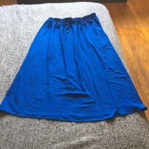 Long zara skirt